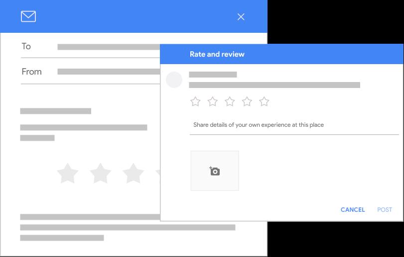 Tool to increase Google ratings